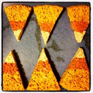 Pumpkin Spice Candycorn Krispies