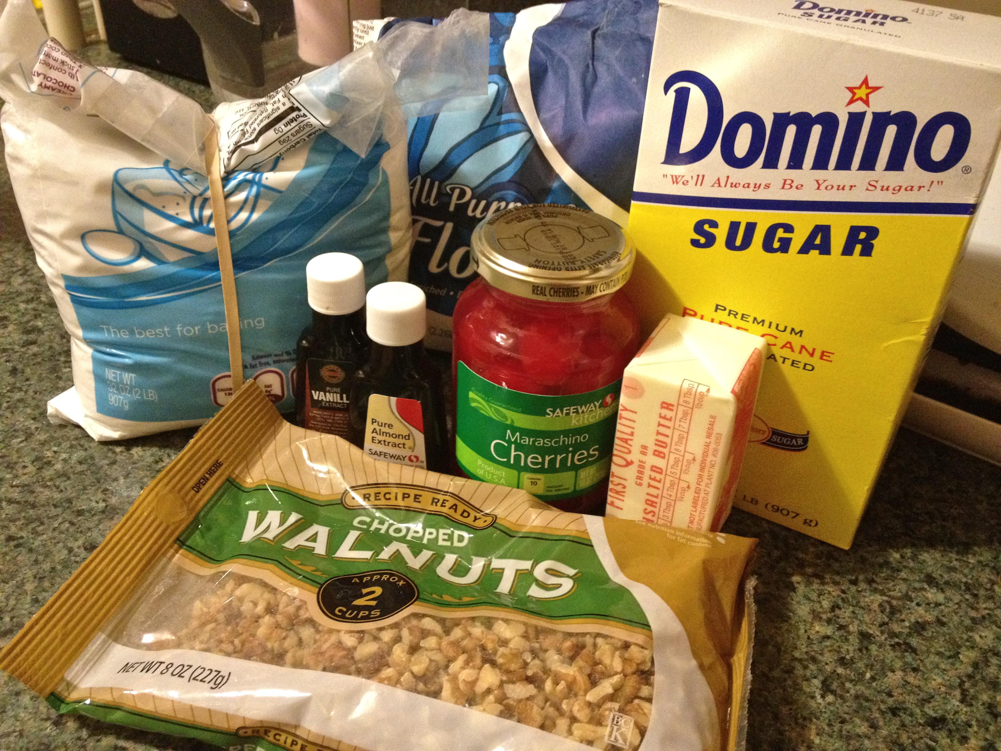 Cherry walnut ball supplies