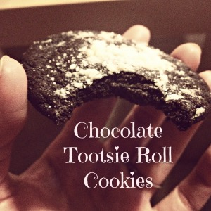 Chocolate Tootsie Roll Cookies