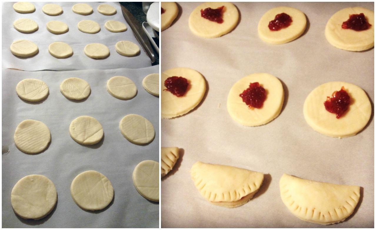 Pie cookie filling