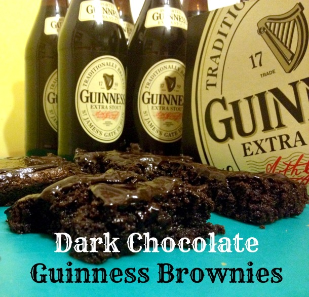 Guinness Brownies. Recipe from Gastronome Tart.