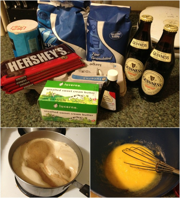 Guinness Brownies Step 1