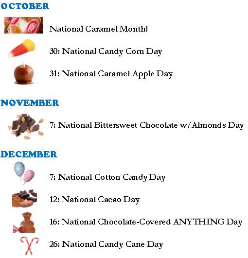 Candy Key Oct-Dec