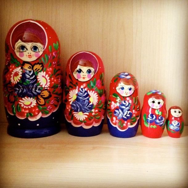 Deployment spoils Kyrgyzstan nesting dolls