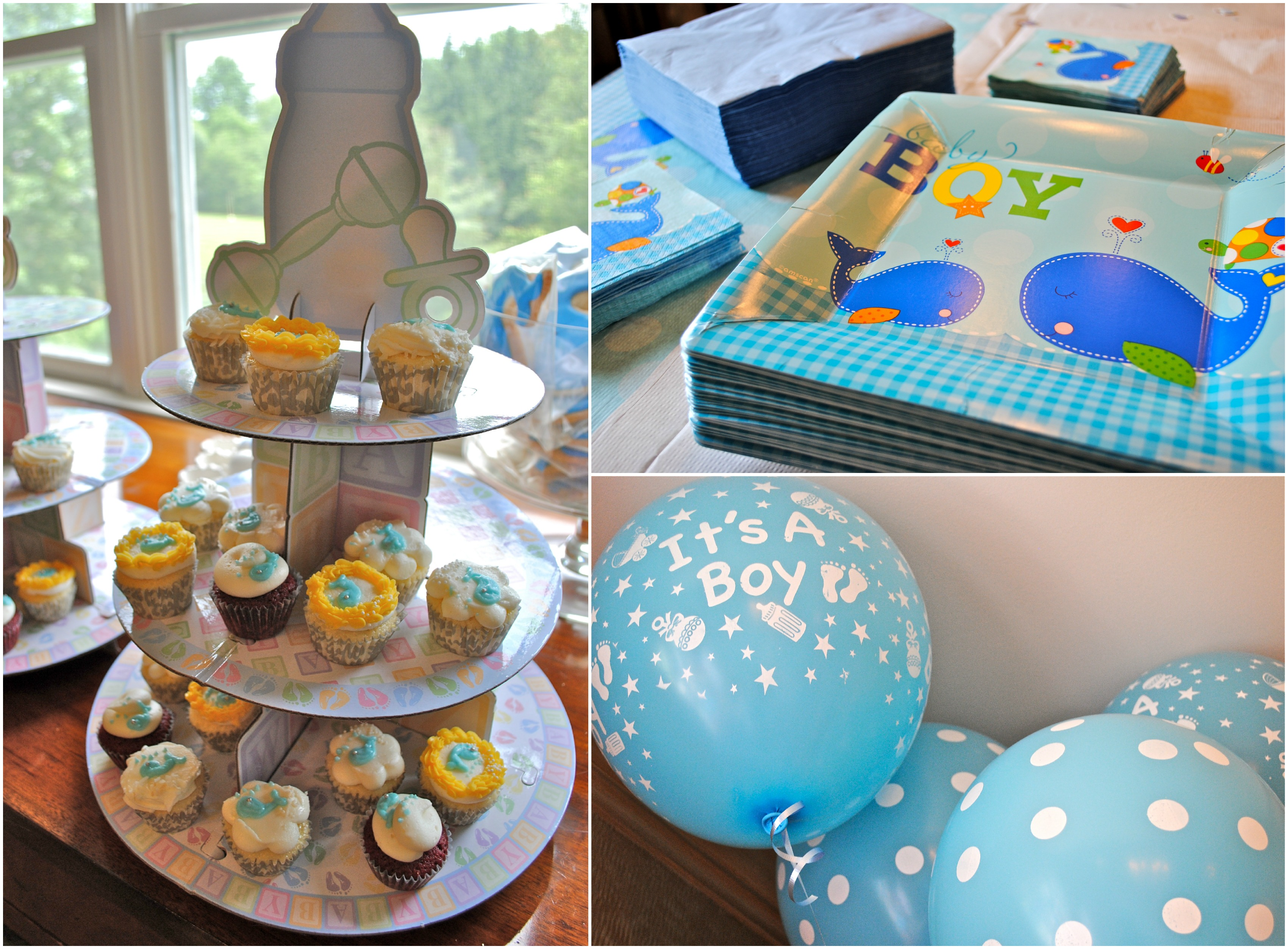 Baby shower decorations boy 28 images 10 baby shower themes for boys right start how to set - Deco baby boy ...