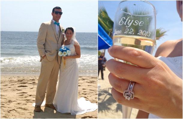 Elyse and Joe Jersey Shore wedding