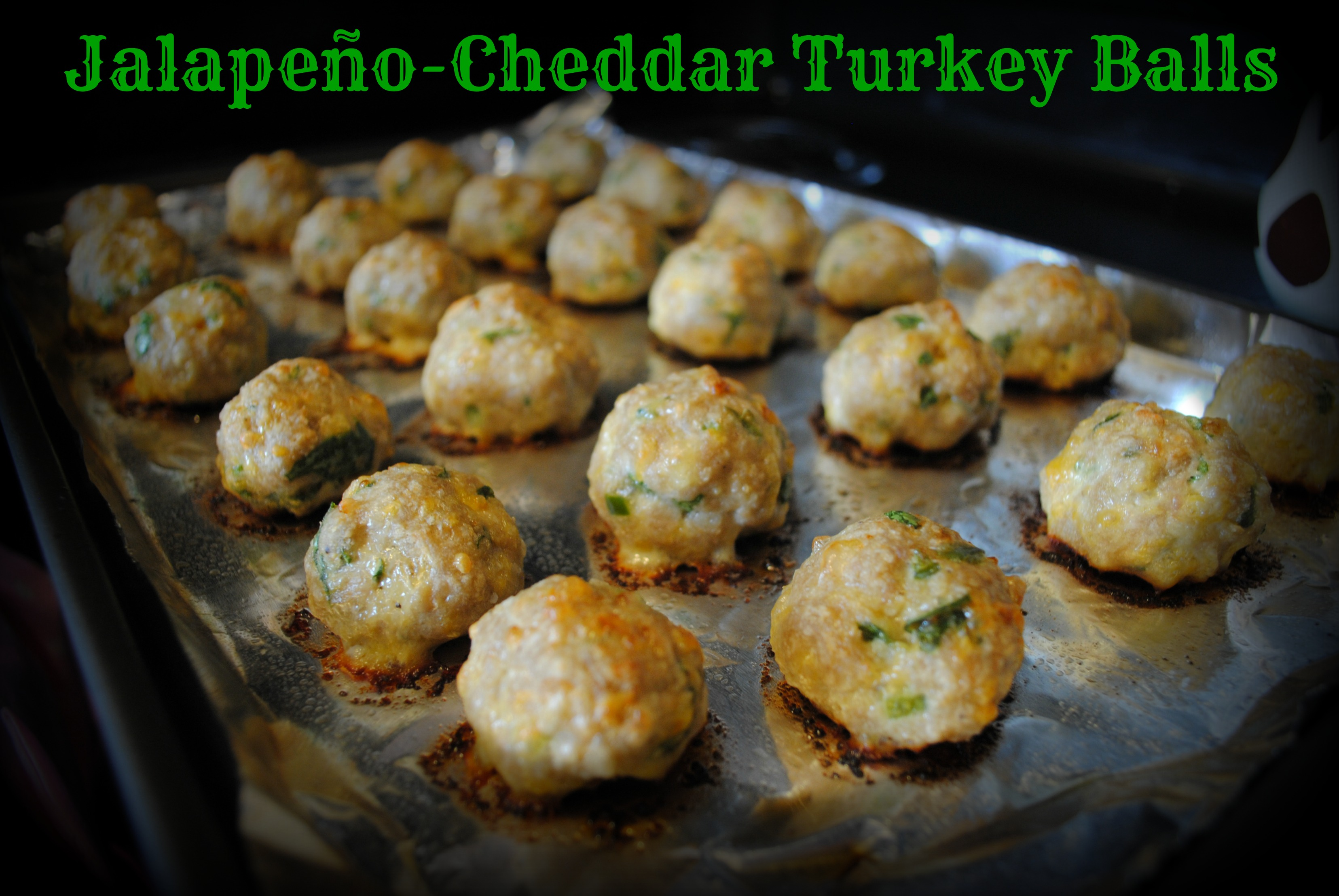 Jalapeno-Cheddar Turkey Balls