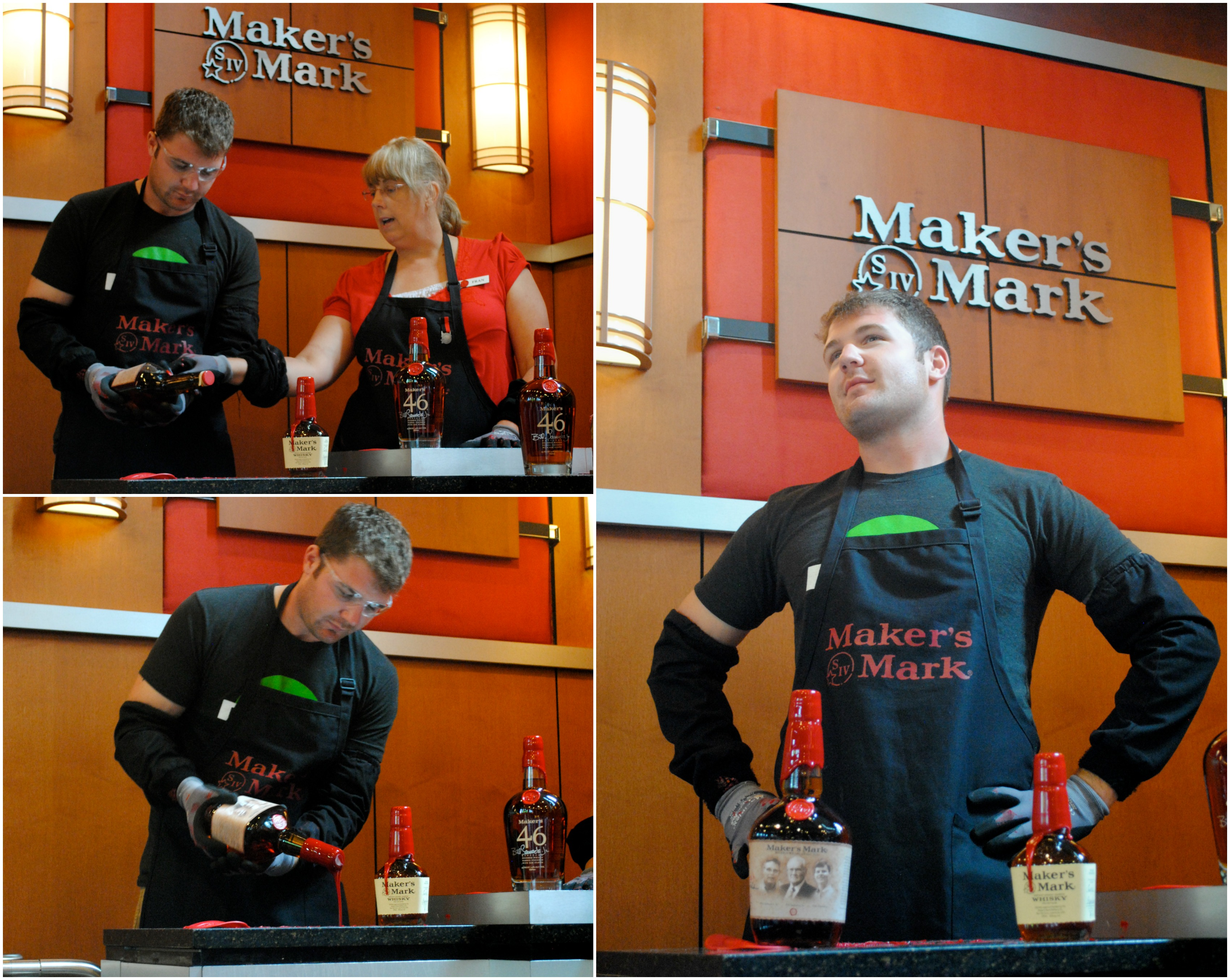 Wiley at Makers Mark