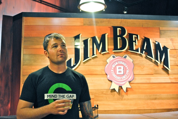 Wylie at Jim Beam
