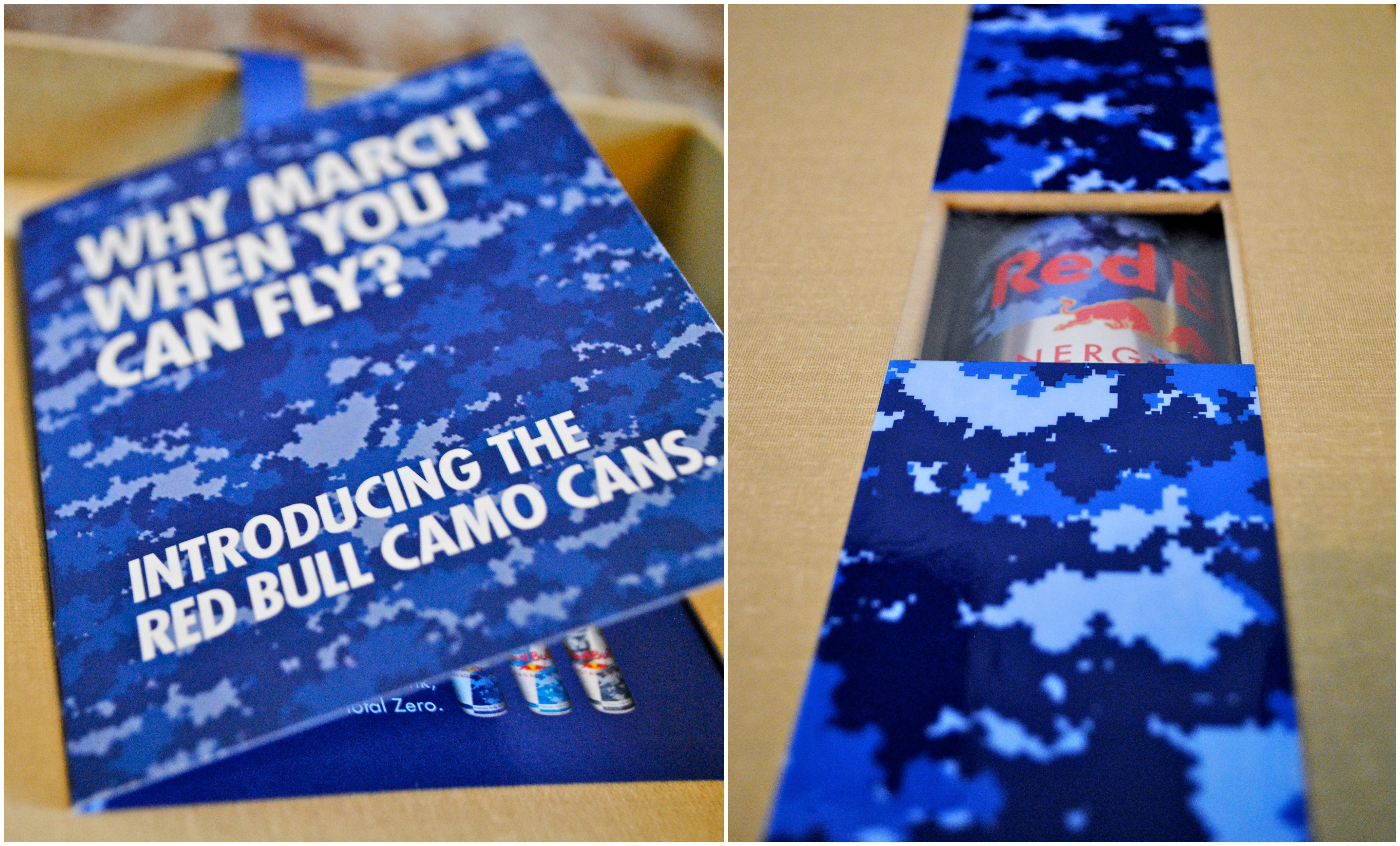 Camo Can Packaging