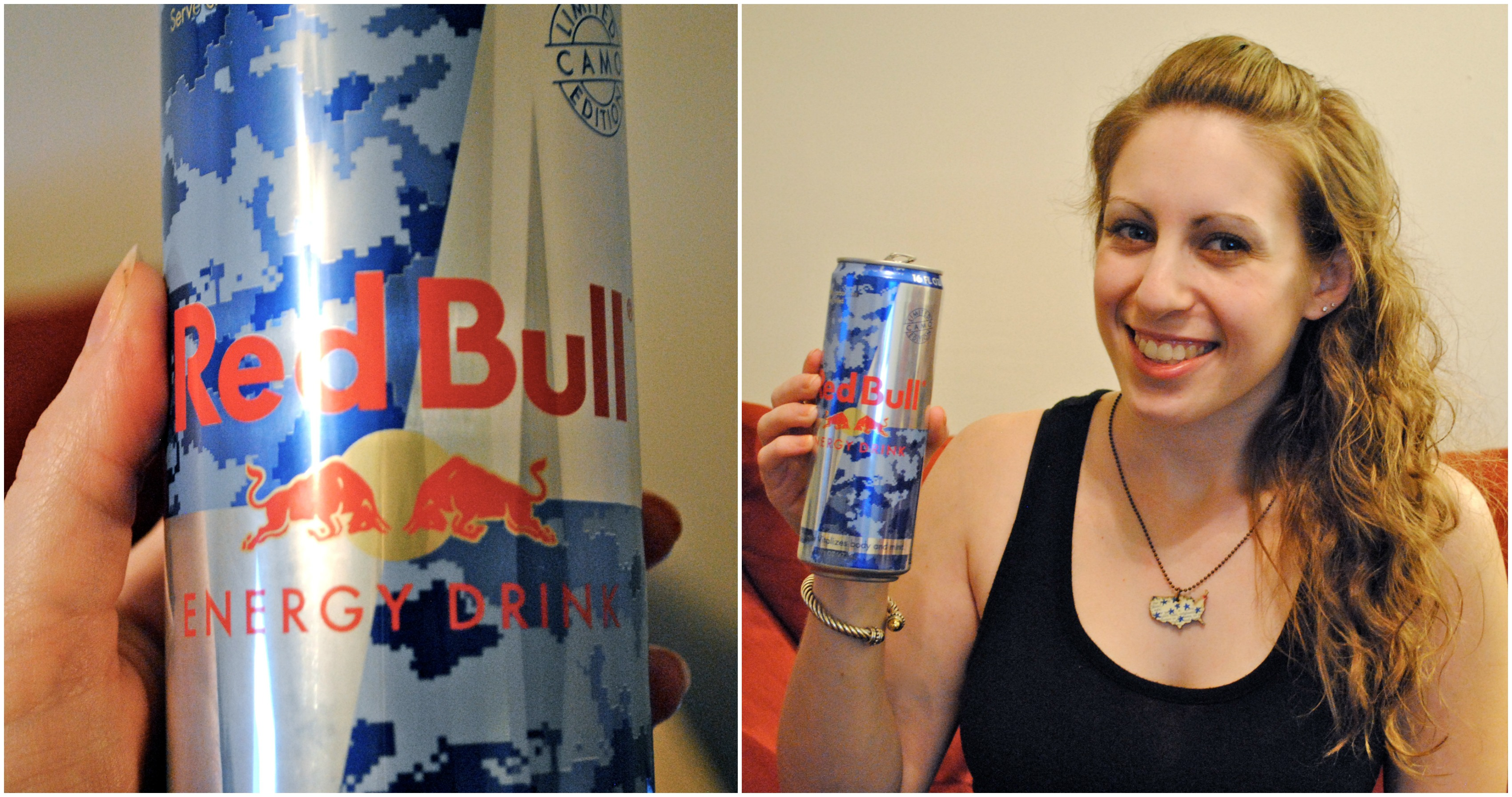 My Red Bull Camo Can