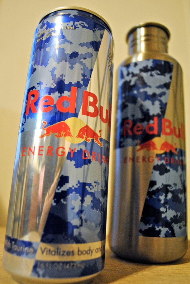 Red Bull Camo Can