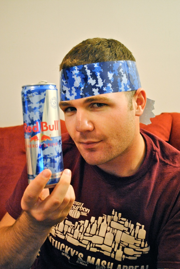 Wylie and his Red Bull