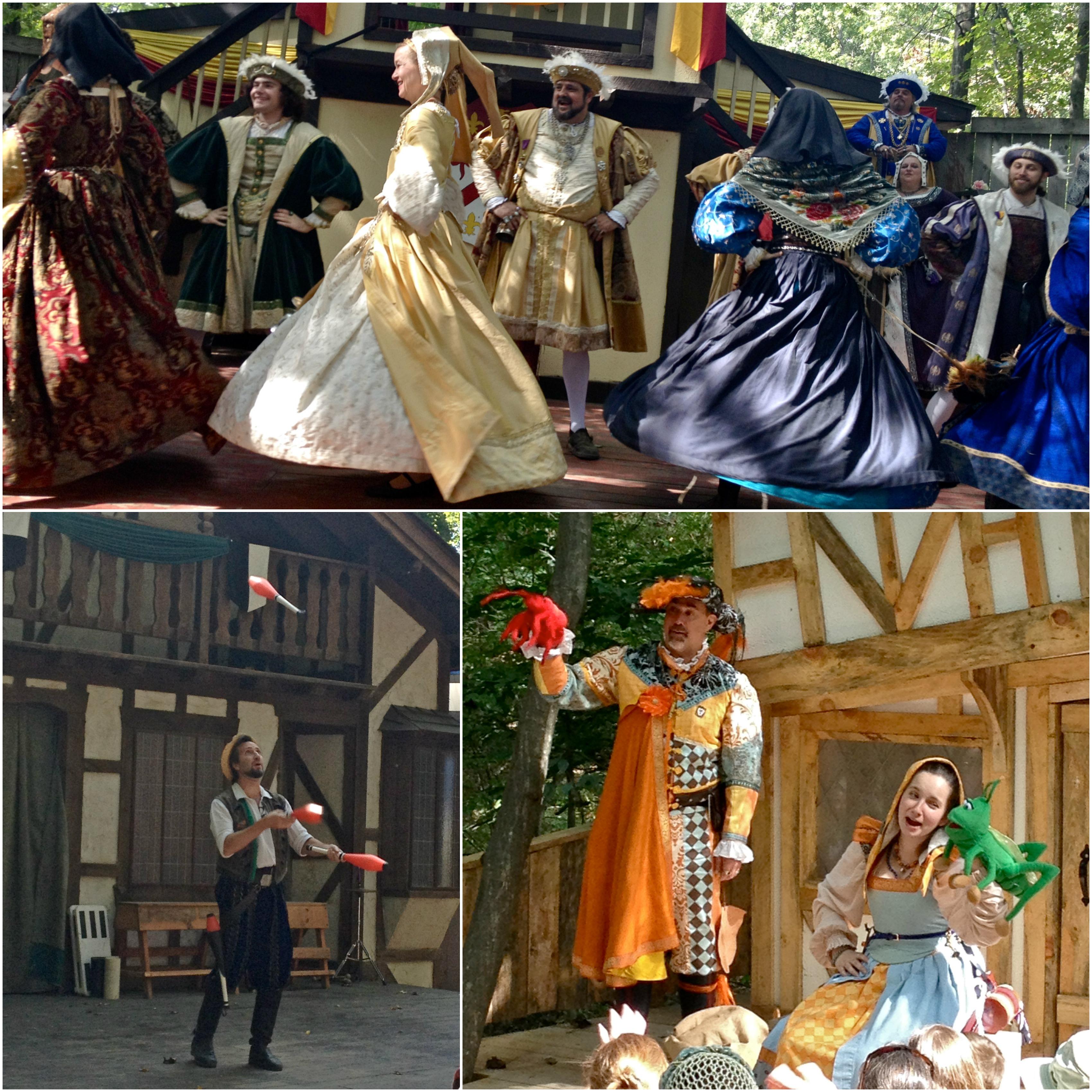 Renaissance Festival performances
