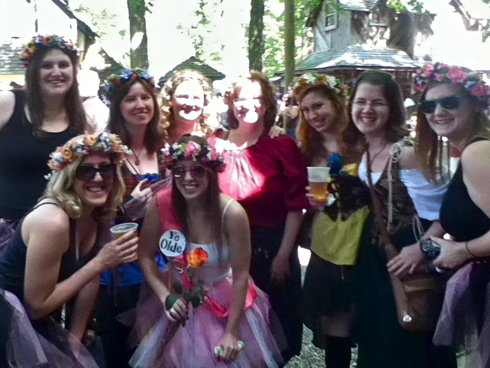 WAC friends at Renn Fest