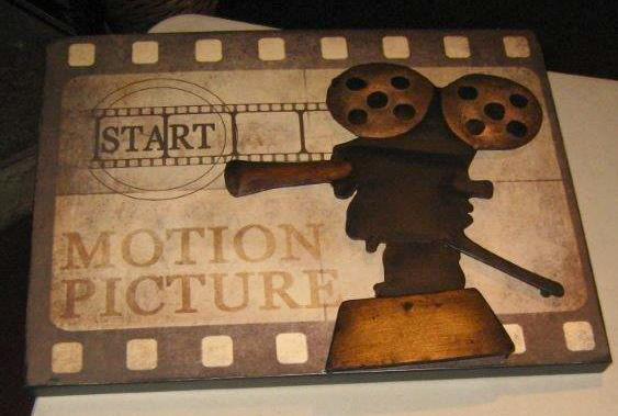 Motion picture plaque
