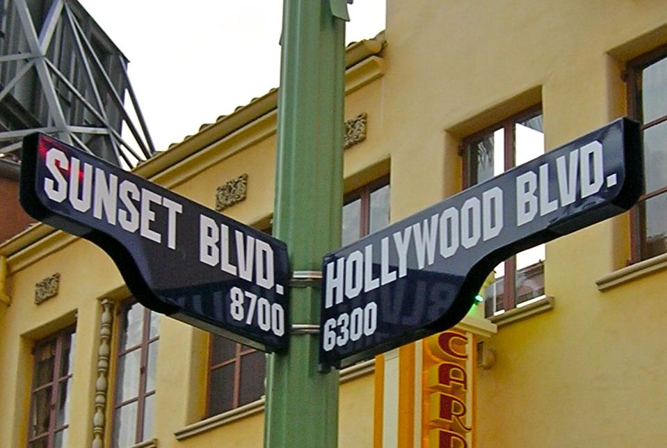 CA street signs