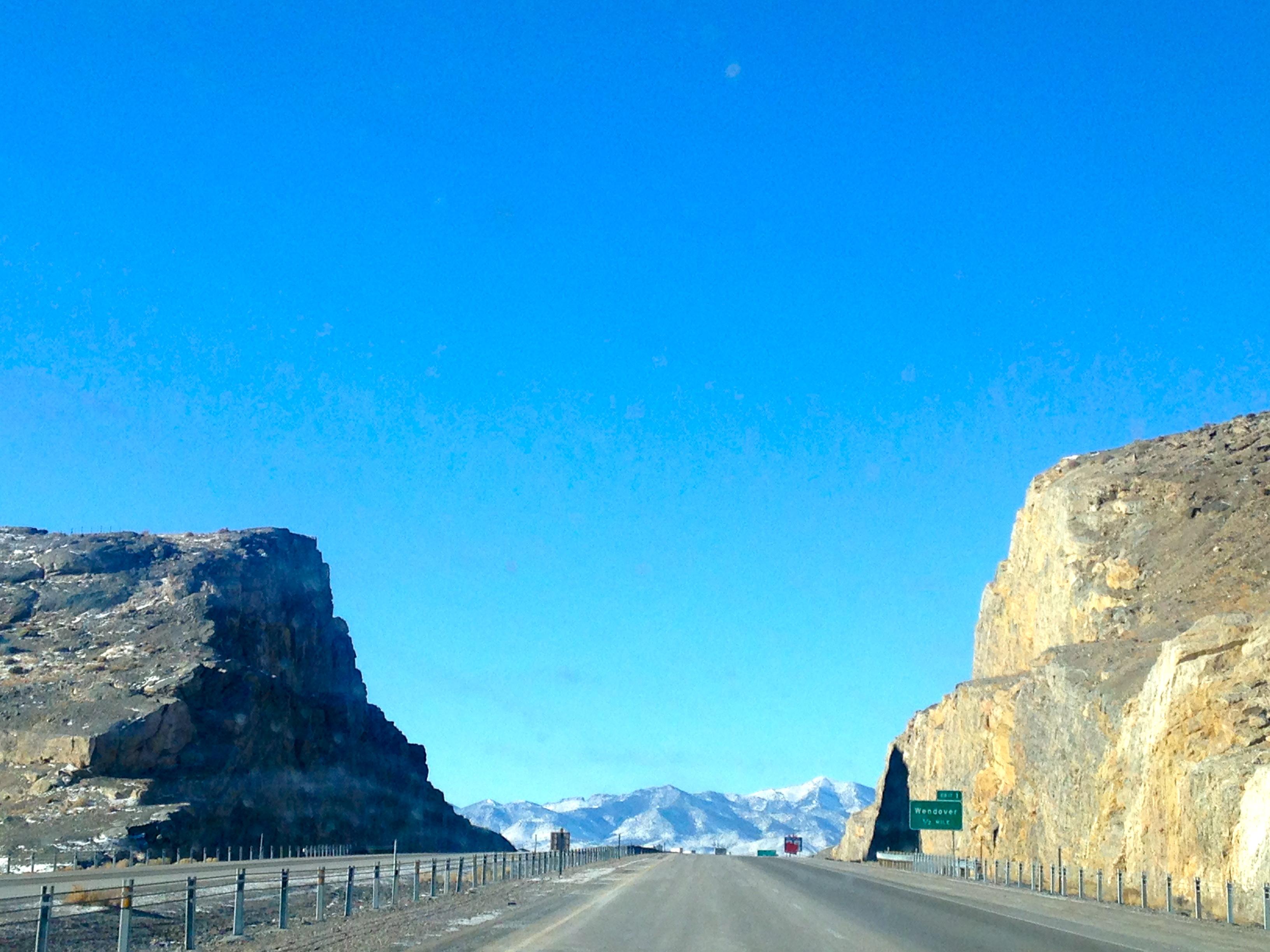 Entering Nevada