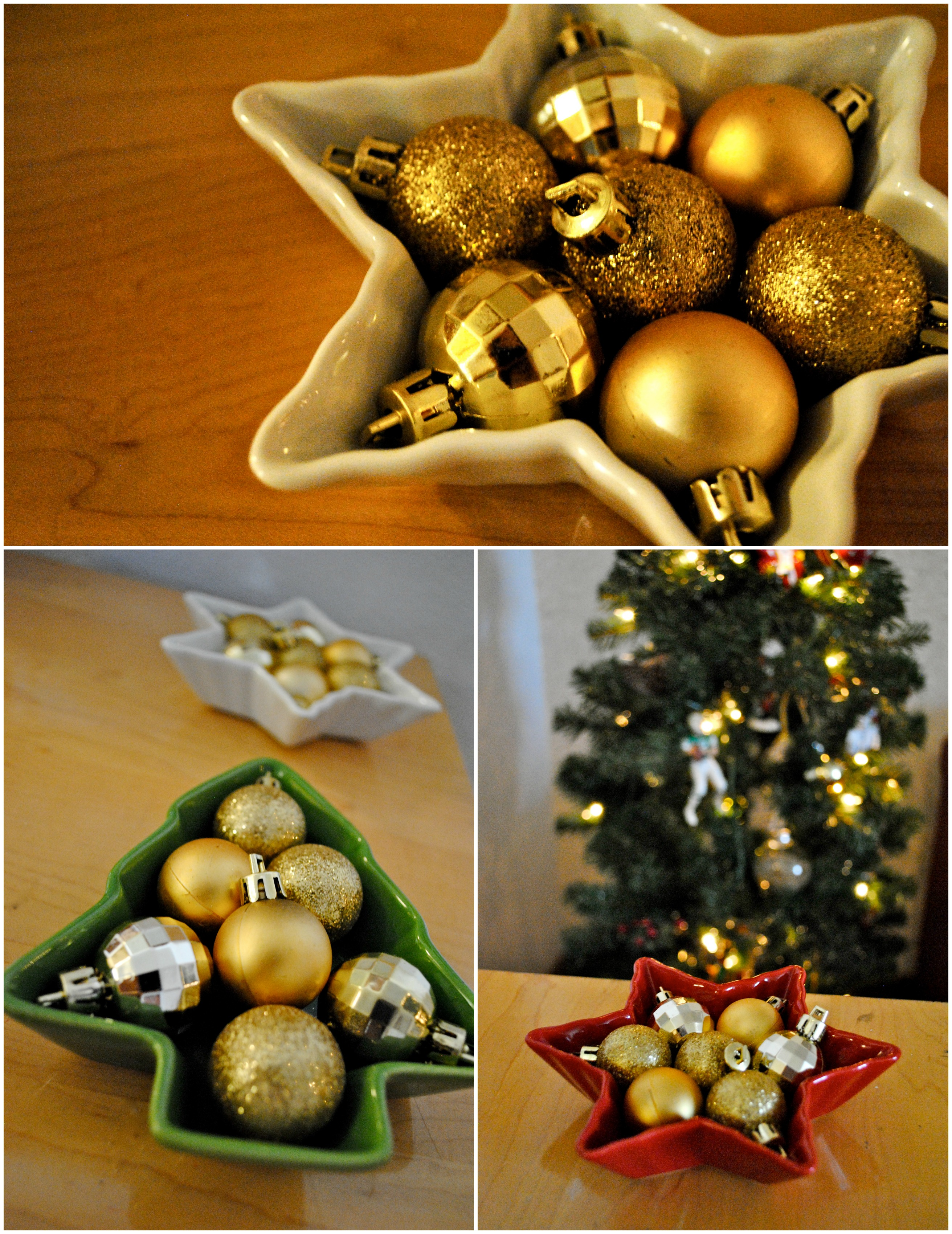 Ornament dishes